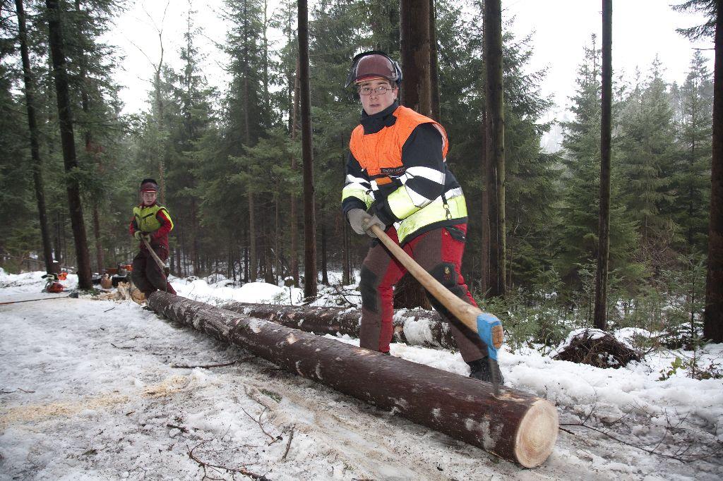 Holzerkurs Feuerwehr