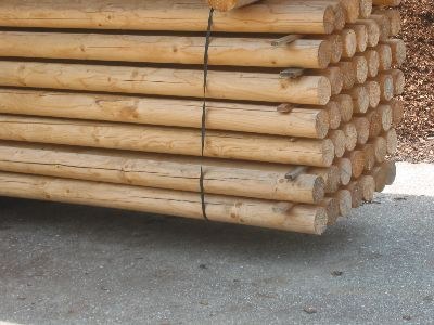 Konstruktionsrundholz